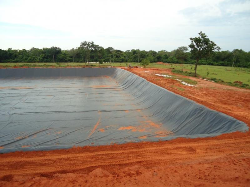 Impermeabilização de aterros sanitários com geomembrana - 4