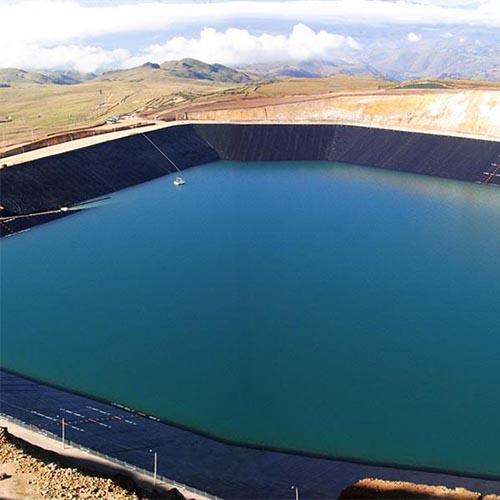 Manta de geomembrana para lagos - 2