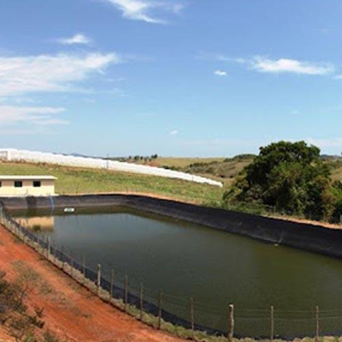 Lona para tanque piscicultura
